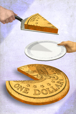 Pieceofmoney pie